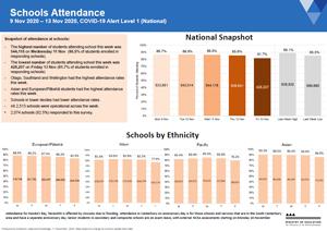 Attendance COVID-19: Schools 9-13 Nov 2020 [PDF 536kB]